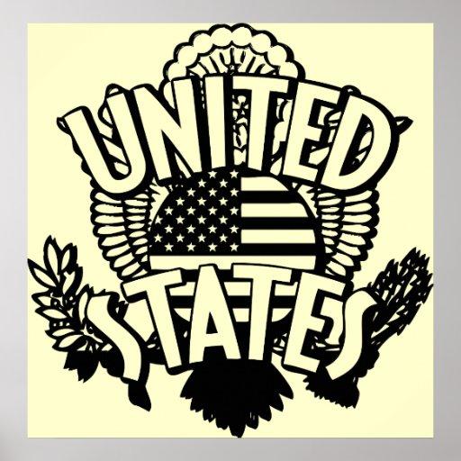 Estados Unidos Póster