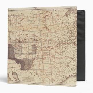 """Estados Unidos progresan mapa de rutas y de Carpeta 1 1/2"""""""