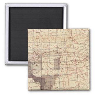 Estados Unidos progresan mapa de rutas y de estaci Imán Cuadrado