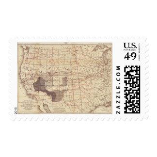 Estados Unidos progresan mapa de rutas y de Sello Postal