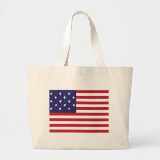 Estados Unidos protagonizan la bandera Spangled de Bolsa Lienzo