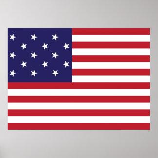 Estados Unidos protagonizan la bandera Spangled de Impresiones