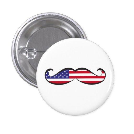 Estados Unidos señalan el bigote por medio de una  Pin