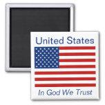 Estados Unidos señalan el imán por medio de una ba