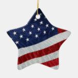 Estados Unidos señalan el ornamento por medio de u Ornamento De Navidad