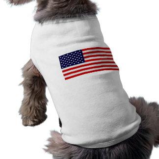 Estados Unidos señalan la camisa del perrito por m Playera Sin Mangas Para Perro