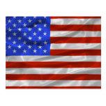 Estados Unidos señalan la postal por medio de una