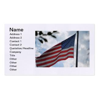 Estados Unidos señalan la tarjeta de visita por me