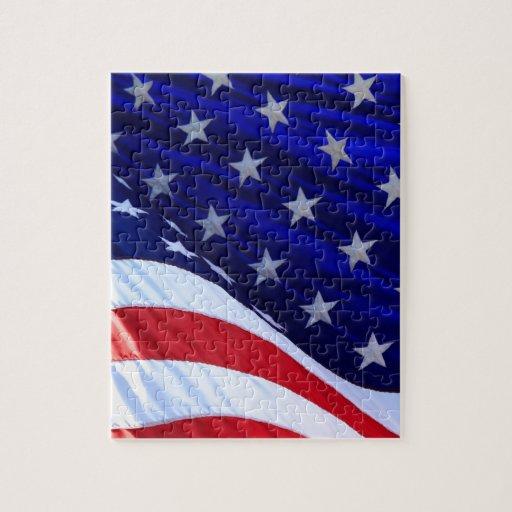 Estados Unidos señalan - los E.E.U.U. por medio de Rompecabeza Con Fotos