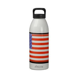 Estados Unidos señalan por medio de una bandera Botallas De Agua