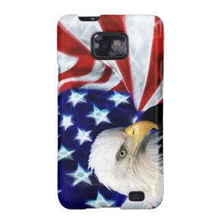 Estados Unidos señalan por medio de una bandera co Samsung Galaxy S2 Carcasas