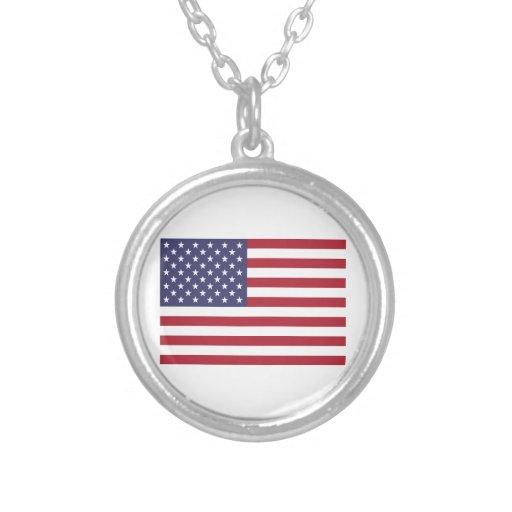 Estados Unidos señalan por medio de una bandera Colgante Redondo