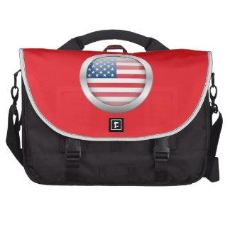 Estados Unidos señalan por medio de una bandera en Bolsas Para Ordenador