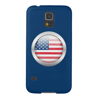 Estados Unidos señalan por medio de una bandera en Funda Para Galaxy S5