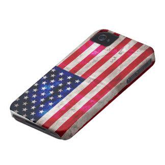 Estados Unidos señalan por medio de una bandera Case-Mate iPhone 4 Cárcasas
