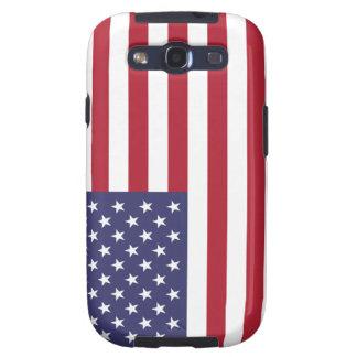 Estados Unidos señalan por medio de una bandera Galaxy SIII Protector