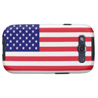 Estados Unidos señalan por medio de una bandera Galaxy SIII Funda