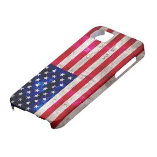 Estados Unidos señalan por medio de una bandera iPhone 5 Case-Mate Carcasa
