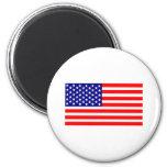 Estados Unidos señalan por medio de una bandera Imán Para Frigorífico
