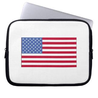 Estados Unidos señalan por medio de una bandera Manga Portátil