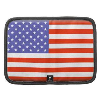 Estados Unidos señalan por medio de una bandera Organizador