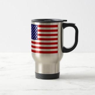 Estados Unidos señalan por medio de una bandera Taza De Viaje