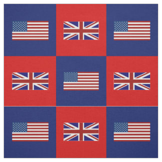 Estados Unidos señalan por medio de una bandera, Telas