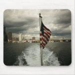 Estados Unidos señalan por medio de una bandera y  Tapetes De Raton