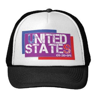 Estados Unidos son púrpuras Gorra