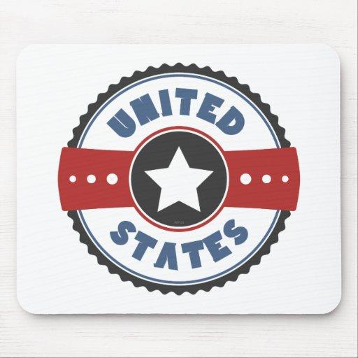 Estados Unidos Tapetes De Ratón