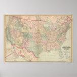Estados Unidos, territorios Póster