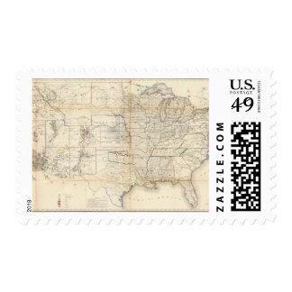 Estados Unidos, territorios Sello