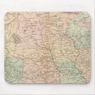 Estados Unidos, territorios Alfombrilla De Ratón