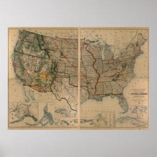 Estados Unidos trazan con Territories (1923) Poster