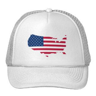 Estados Unidos trazan y señalan - el gorra por med
