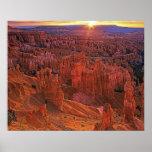 Estados Unidos, Utah, parque nacional del barranco Póster