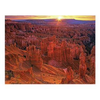 Estados Unidos, Utah, parque nacional del barranco Tarjeta Postal