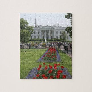 Estados Unidos, Washington, C.C. El lado norte Rompecabezas Con Fotos