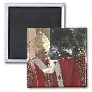 Estados Unidos, Washington, D.C. papa Benedicto 2 Imán Cuadrado