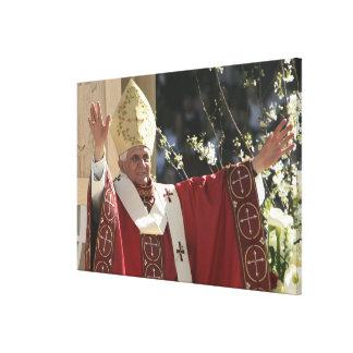 Estados Unidos, Washington, D.C. papa Benedicto 2 Lienzo Envuelto Para Galerías
