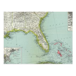 Estados Unidos y Bahamas Postal
