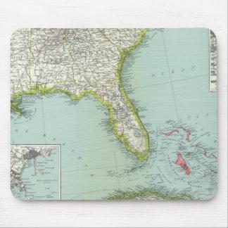 Estados Unidos y Bahamas Tapetes De Ratón