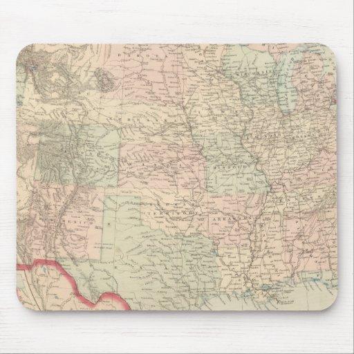 Estados Unidos y territorios 2 Alfombrilla De Ratón