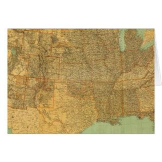 Estados Unidos y territorios Tarjeta