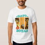 Estafa Botas del EL Gato Playera