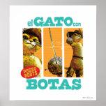 Estafa Botas del EL Gato Posters