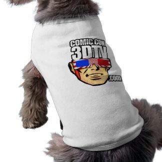 Estafa cómica 3DTV DOGGIE-SHIRT - D Camisa De Mascota