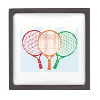 Estafa de tenis cajas de regalo de calidad