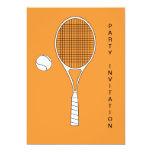 Estafa de tenis e invitación de la bola