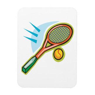 Estafa de tenis imán